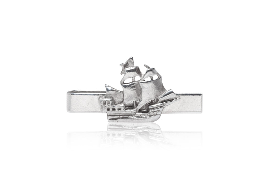 Cartography M'rasheen ship tie clip - The Stylish Man