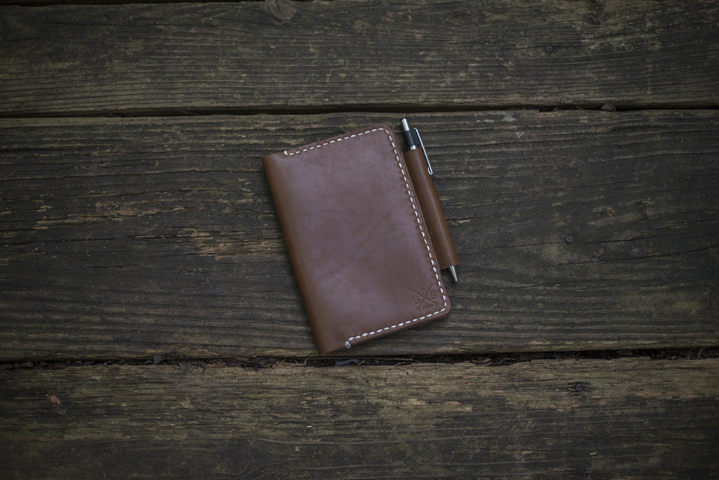 Leather Notebook Cover - The Stylish Man