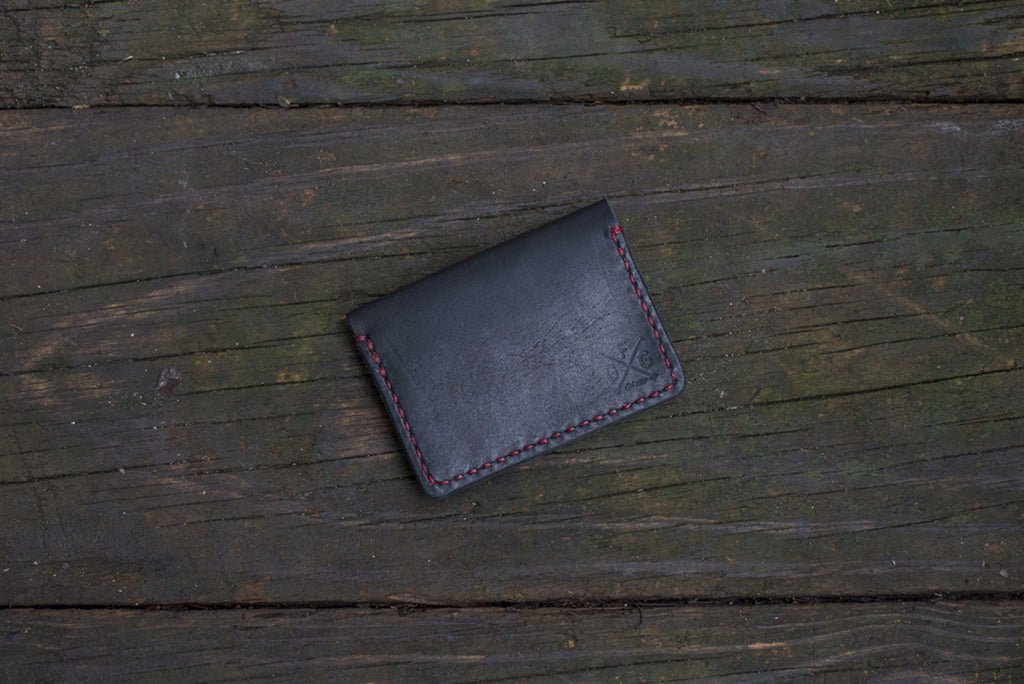 Single Leather Wallet - The Stylish Man