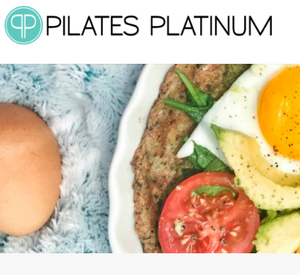 Breakfast Pizza with Pilates Platinum