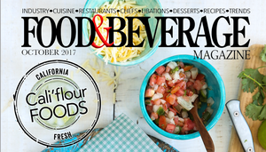October 2017 Food & Beverage Magazine Feature