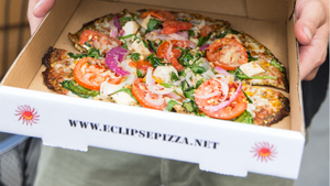 Food & Beverage Magazine Features Eclipse Pizza Co. using Cali'flour Pizza Crust