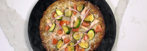 Cali'flour Foods Supreme Veggie Pizza On Eat This Not That
