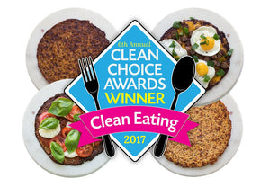 Clean Eating Magazine Clean Choice Award 2017