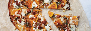 Pumpkin and Pancetta Pizza
