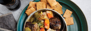 Beef Irish Stew with Cali'Crackers