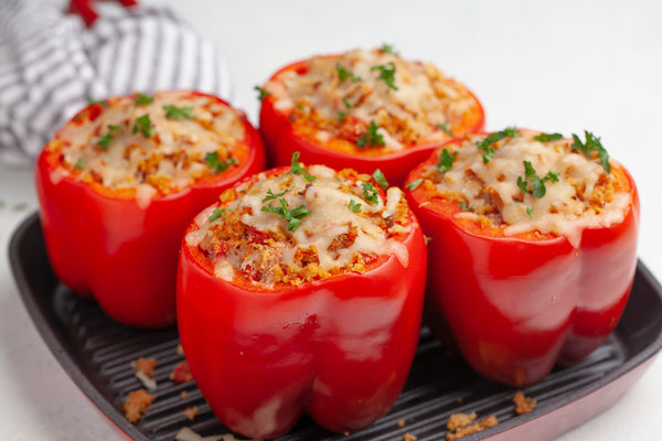 Cali-Stuffed Bell Peppers