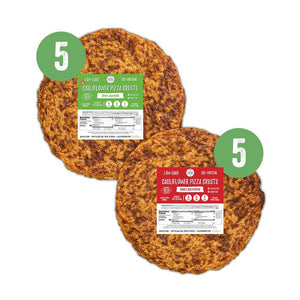 10 piece stack pack - 5 original jalapeno crusts and 5 red pepper crusts crusts