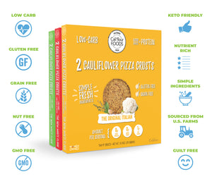 Pizza Crust Variety Packs & Meal Kits