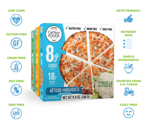 cali'flour foods frozen pizza nutrition