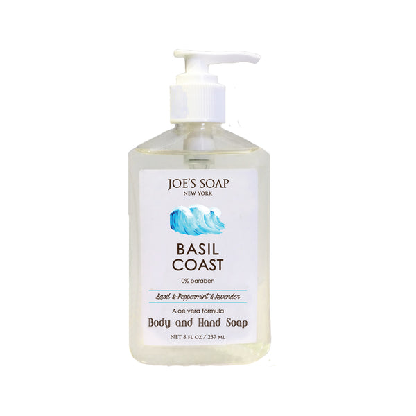 "<FONT size=""3"">Body and Hand Soap</FONT> <BR>BASIL COAST"