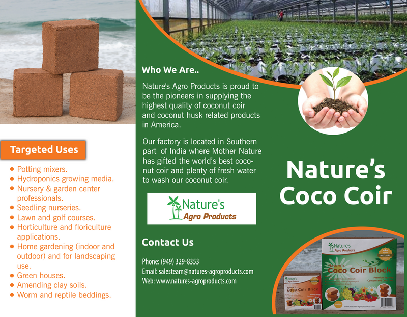 Nature's Coco Coir 1 Pound Brick
