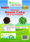 Nature's Neem Cake Powder (NPK% - 6-1-2%) 4-Pound Bag
