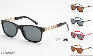 IG213PR - GOGOsunglasses, IG sunglasses, sunglasses, reading glasses, clear lens, kids sunglasses, fashion sunglasses, women sunglasses, men sunglasses