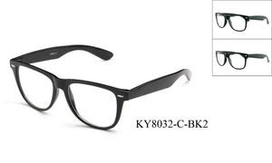 KY8032-C-BK2 - GOGOsunglasses, IG sunglasses, sunglasses, reading glasses, clear lens, kids sunglasses, fashion sunglasses, women sunglasses, men sunglasses