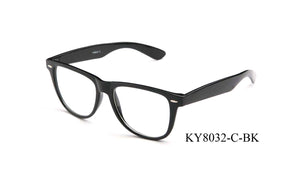 KY8032-C-BK - GOGOsunglasses, IG sunglasses, sunglasses, reading glasses, clear lens, kids sunglasses, fashion sunglasses, women sunglasses, men sunglasses