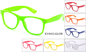 KY8032-GLOW - GOGOsunglasses, IG sunglasses, sunglasses, reading glasses, clear lens, kids sunglasses, fashion sunglasses, women sunglasses, men sunglasses