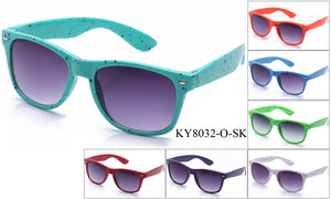 KY8032-O-SK - GOGOsunglasses, IG sunglasses, sunglasses, reading glasses, clear lens, kids sunglasses, fashion sunglasses, women sunglasses, men sunglasses
