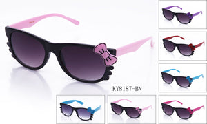 KY8187-BN - GOGOsunglasses, IG sunglasses, sunglasses, reading glasses, clear lens, kids sunglasses, fashion sunglasses, women sunglasses, men sunglasses