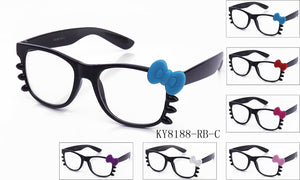 KY8188-RB-C - GOGOsunglasses, IG sunglasses, sunglasses, reading glasses, clear lens, kids sunglasses, fashion sunglasses, women sunglasses, men sunglasses