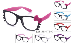 KY8188-RTB-C - GOGOsunglasses, IG sunglasses, sunglasses, reading glasses, clear lens, kids sunglasses, fashion sunglasses, women sunglasses, men sunglasses