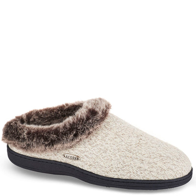 Acorn Women's Chinchilla Clog Ragg Slipper