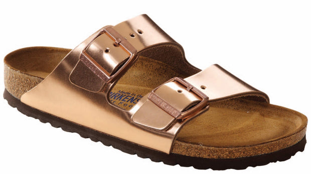 Birkenstock Women's Arizona Metallic Soft Footbed Sandal