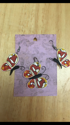 Polymer Clay Butterfly Set
