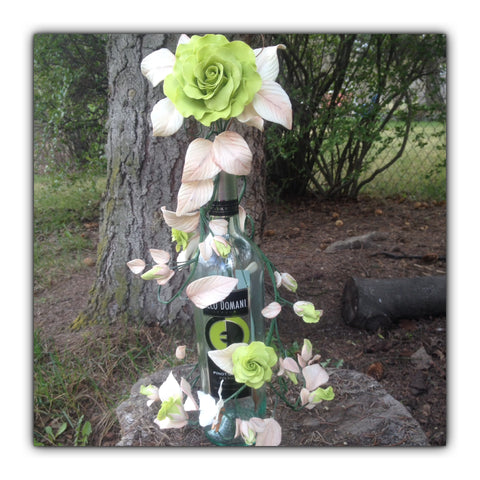 Lime Green Rose Vine