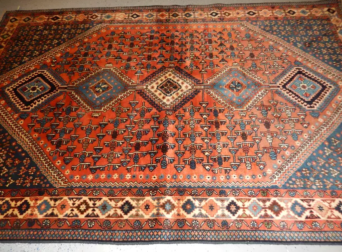 Fine Persian All Wool Yalameh 1970's