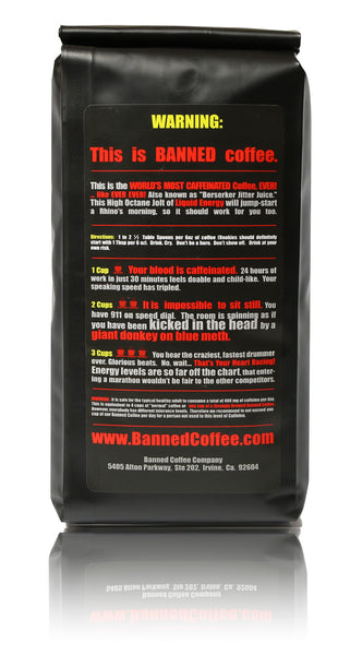 Banned Coffee - Back Side