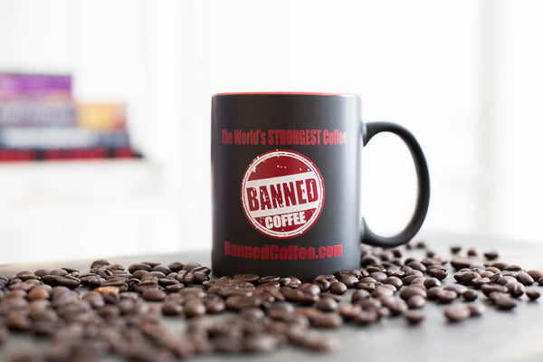 Banned Coffee Gift Mug