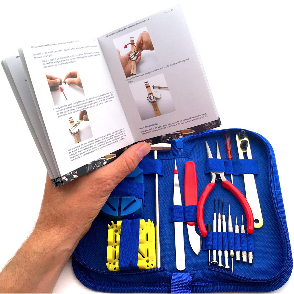 Press Release:  EZTool Give Away 41-Page 'Maintenance & Service' Manual with Watch Repair Kit