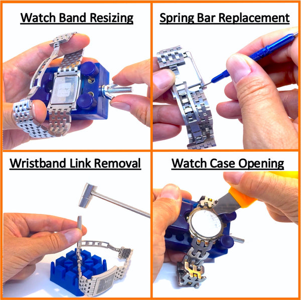 QwikFixxer Watch Repair Tool Kit & Wrench