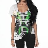 KAWASAKI NINJA (SUBLIMATION) WOMEN'S T-SHIRT