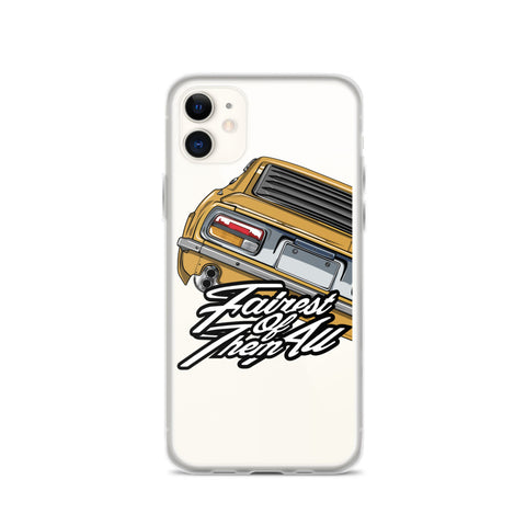 DATSUN FAIRLADY IPHONE CASE ( YELLOW )
