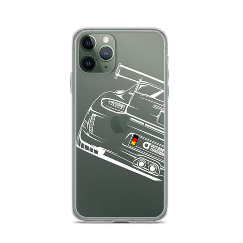 PORSCHE GT3 RS IPHONE CASE ( WHITE )