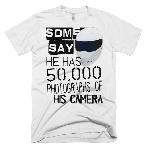 "SOME SAY... ""CAMERA"" T-SHIRT  (WHITE)"