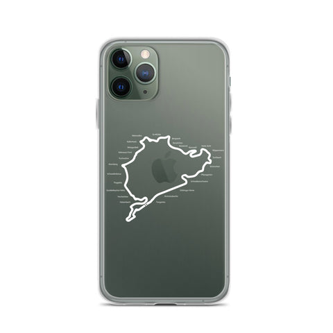 NURBURGRING MAP IPHONE CASE