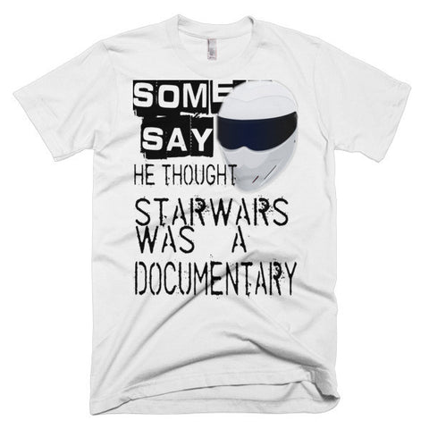 "SOME SAY... ""STAR WARS"" T-SHIRT (WHITE)"
