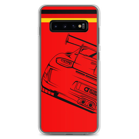 PORSCHE GT3 RS SAMSUNG CASE ( RED )