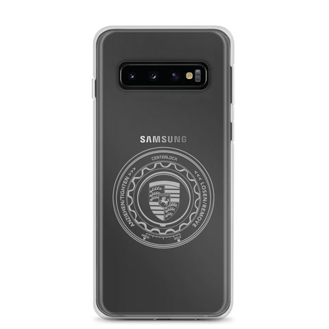 PORSCHE CENTER LOCK SAMSUNG CASE