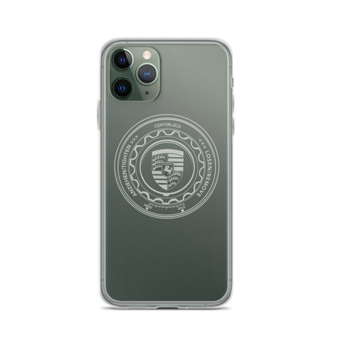 PORSCHE CENTER LOCK IPHONE CASE