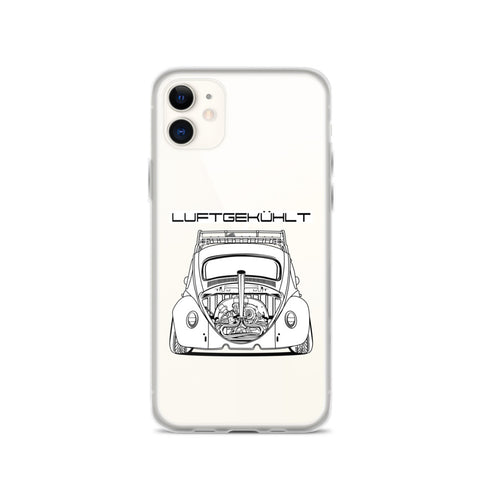 VW BEETLE ( LUFTGEKUHLT ) IPHONE CASE