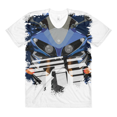YAMAHA R1 (SUBLIMATION) WOMEN'S T-SHIRT