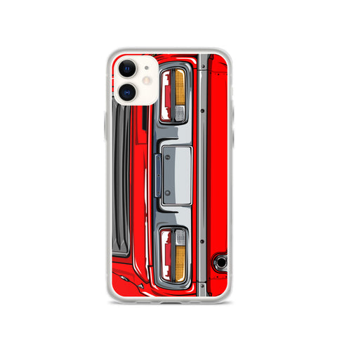 DATSUN 240Z IPHONE CASE ( RED )