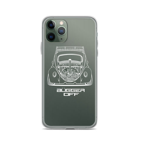 VW BEETLE ( BUGGER OFF ) IPHONE CASE