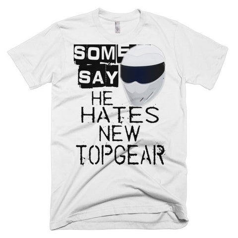 "SOME SAY... ""TOPGEAR"" T-SHIRT (WHITE)"