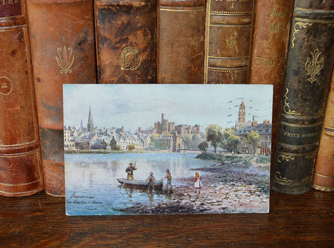 Antique English Raphael Tuck's Postcard Inverness Scotland 1923 - Antique Flea Finds