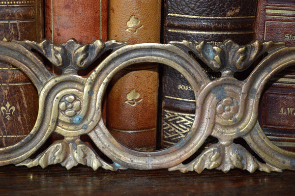 Antique French Circular Border Trim Molding Hardware - Antique Flea Finds - 2